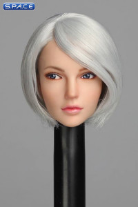 1/6 Scale Cynthia Head Sculpt (white Hair)