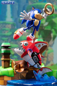 Sonic vs Chopper Diorama (Sonic Generations)