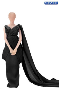 1/6 Scale black Full Evening Dress