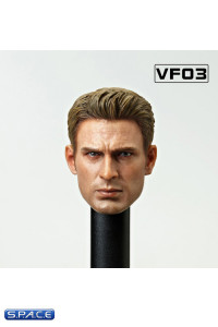 1/6 Scale Chris Head Sculpt