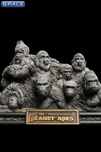 Apes through the Ages 50th Anniversary Mini-Statue (Planet of the Apes)