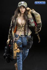 1/6 Scale Combat Girl Lucy