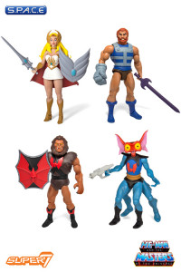 Complete Set of 4: MOTU Club Grayskull Figures Wave 3 (He-Man and the Masters of the Universe)