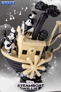 Steamboat Willie Disney Select PVC Diorama (Disney)