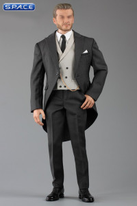 1/6 Scale dark-grey Gentleman Cutaway Set