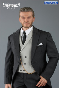1/6 Scale dark-grey Gentleman Cutaway Set