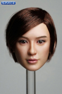 1/6 Scale Amaya Head Sculpt (short brown hair)