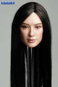 1/6 Scale Amaya Head Sculpt (long black hair)