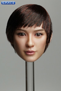 1/6 Scale Amaya Head Sculpt (short brown hair with bangs)