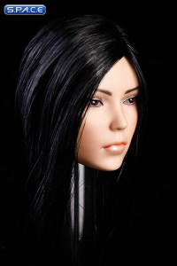 1/6 Scale Kaya Head Sculpt (long black hair)