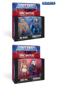 Bundle of  2: Epic Battle 2-Packs (Masters of the Universe)