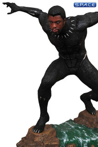 Unmasked Black Panther Marvel Movie Gallery PVC Statue (Black Panther)