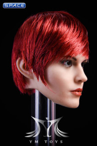 1/6 Scale Cassandra Head Sculpt (red hair)