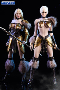 1/6 Scale Female Dragon Warrior Armor Set Version C