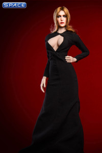 1/6 Scale black Olsen Evening Dress