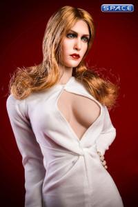 1/6 Scale white Olsen Evening Dress