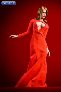 1/6 Scale red Olsen Evening Dress