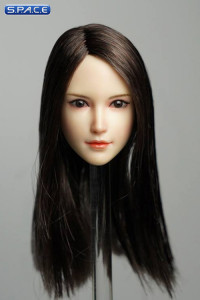 1/6 Scale Sachiko Head Sculpt (brunette hair)
