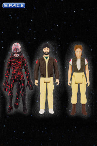 Attack Alien, Dallas and Lambert ReAction Figure 3-Pack (Alien)