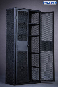 1/6 Scale black locker