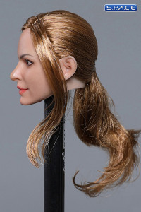 1/6 Scale Anne Head Sculpt (brown hair with ponytail)