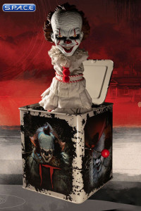 2017 Pennywise Burst-A-Box Music Box (Stephen King's It)