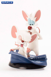 Taking over the World Q-Fig Figure (Pinky and the Brain)