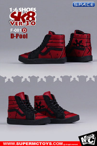 1/6 Scale D-Pool Suede Shoes