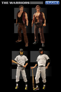 1/12 Scale The Warriors One:12 Collective 4-Pack (The Warriors)