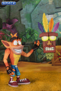 Ultra Deluxe Crash with Aku Aku Mask (Crash Bandicoot)