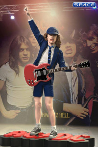 Angus Young Rock Iconz Statue (AC/DC)