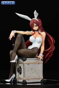 1/6 Scale Erza Scarlet Bunny Girl Style - Type White PVC Statue (Fairy Tail)