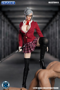 1/6 Scale Student Mistress Set with red Jacket