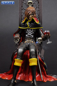 Captain Harlock on Throne Special Edition (Repaint) PVC Statue (Space Pirate Captain Harlock)