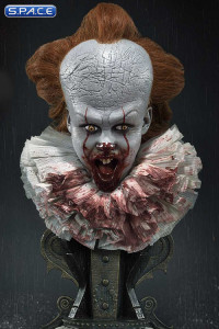 1/2 Scale Surprised 2017 Pennywise High Definition Bust (Stephen King's It)