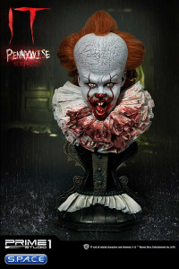 1/2 Scale Surprised 2017 Pennywise High Definition Bust (Stephen Kings It)