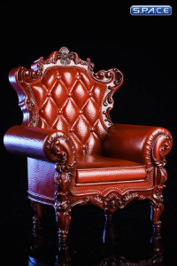 1/6 Scale brown Armchair