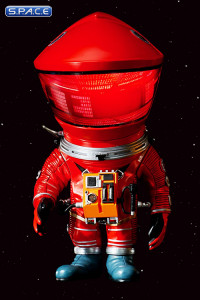 Red Astronaut Deformed Real Series Vinyl Statue (2001: A Space Odyssey)