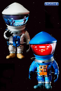 Silver & Blue Astronaut Deformed Real Series Vinyl Statues 2-Pack (2001: A Space Odyssey)