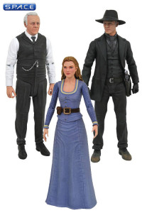 Complete Set of 3: Westworld Select Series 1 (Westworld)