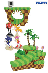 Complete Set of 2: Sonic the Hedgehog Dioarama Playset Series 1 (Sonic the Hedgehog)