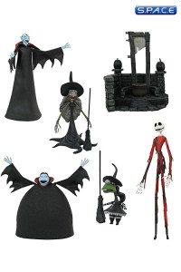 3er Komplettsatz: Nightmare before Christmas Select Serie 8 (Nightmare before Christmas)