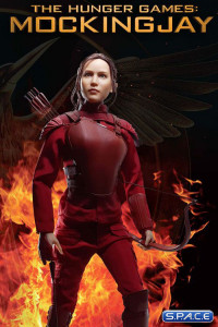 1/6 Scale Katniss Everdeen - Red Armor Version (The Hunger Games: Mockingjay)