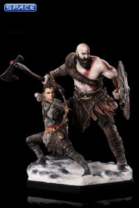 1/10 Scale Kratos & Atreus Deluxe Art Scale Statue (God of War)