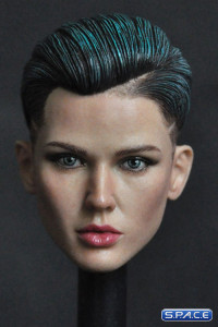 1/6 Scale Ruby Head Sculpt - blue hair Version