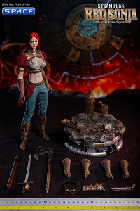 1/6 Scale Steam Punk Red Sonja - Deluxe Version