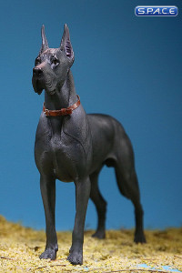 1/6 Scale dark grey Great Dane