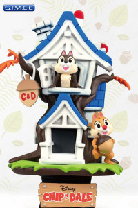 Chip'n Dale Tree House Diorama Stage 028 (Disney)