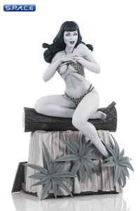 Bettie Page Statue Black and White Edition (Women of Dynamite)