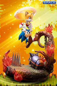 Sonic & Tails Statue (Sonic the Hedgehog)